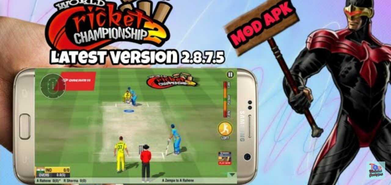 WCC2 Mod Apk Version: 2.8.8.5 Download World Cricket Championship 2