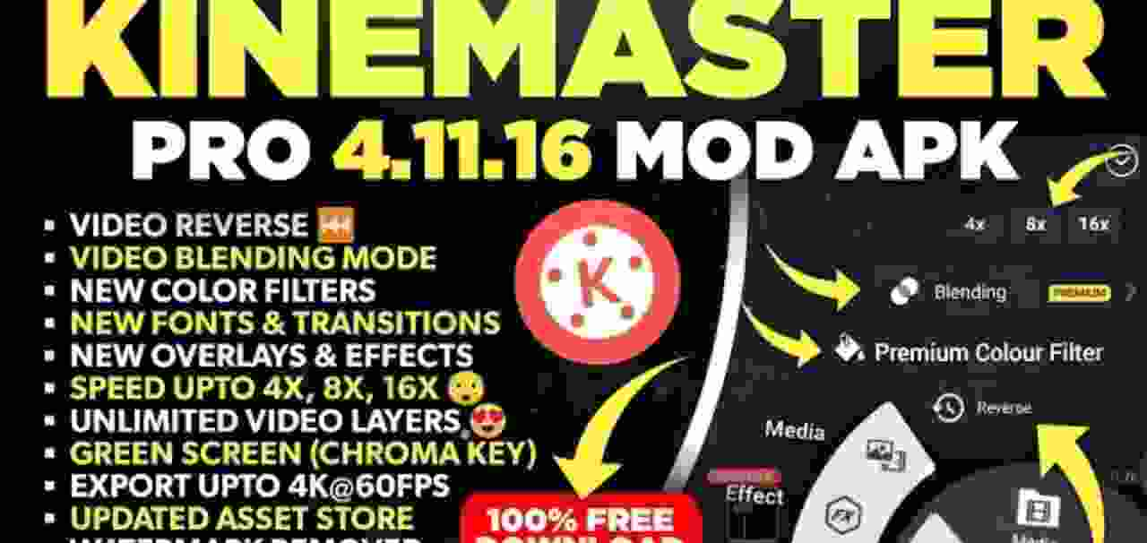KineMaster Pro Mod Apk Free Download Latest Version 2021