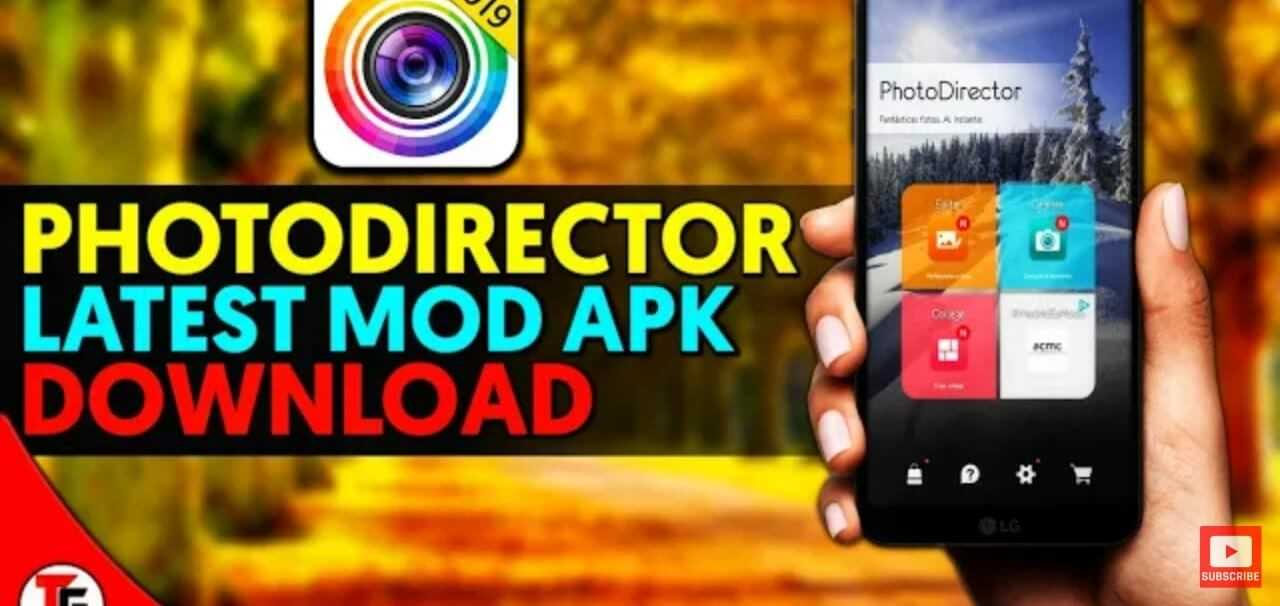 PhotoDirector Photo Editor Mod Apk Latest 2020 [Fully Unlocked]