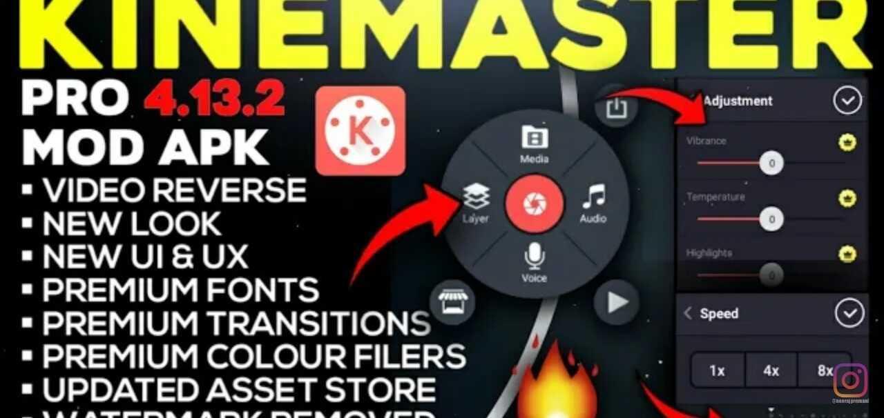 [Updated] KineMaster Pro Fully Unlocked Mod APK (2020) Latest Version
