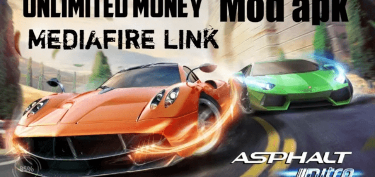 asphalt nitro mod apk 1.7.5a (Unlimeted Money) 2020