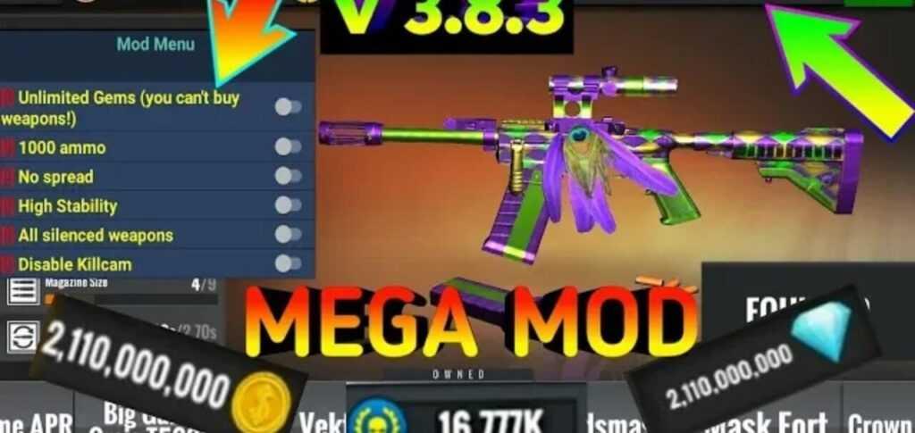 Sniper 3D Mod Apk v3.8.6 Download Gun Shooter 2020